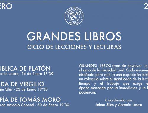 Ciclo de Grandes Lecturas del Ateneo Mercantil de Valencia