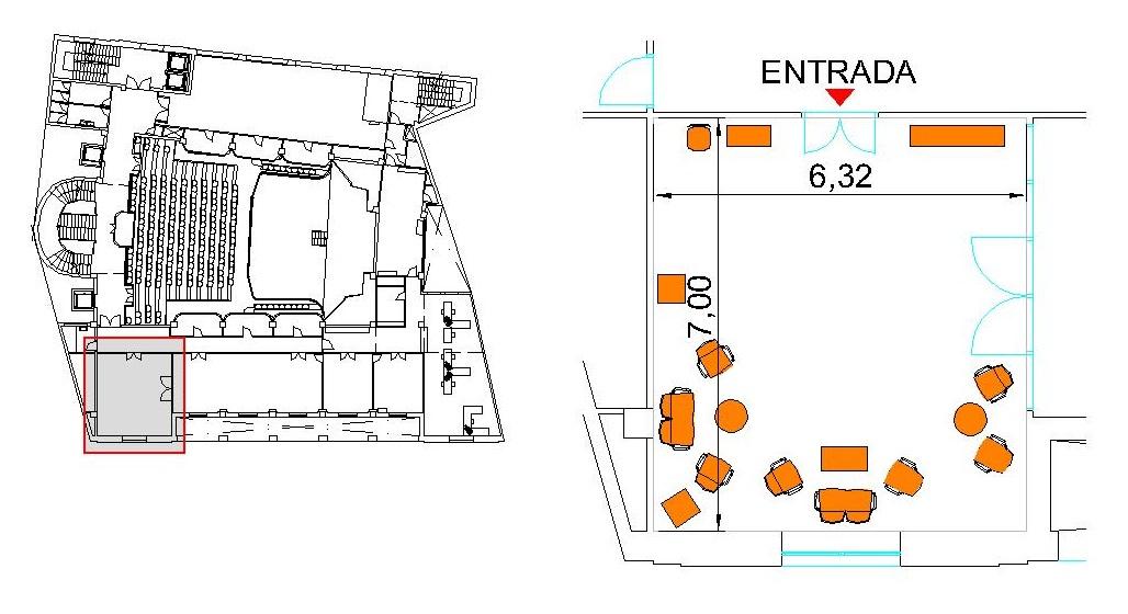 Plano Sala de Banderas
