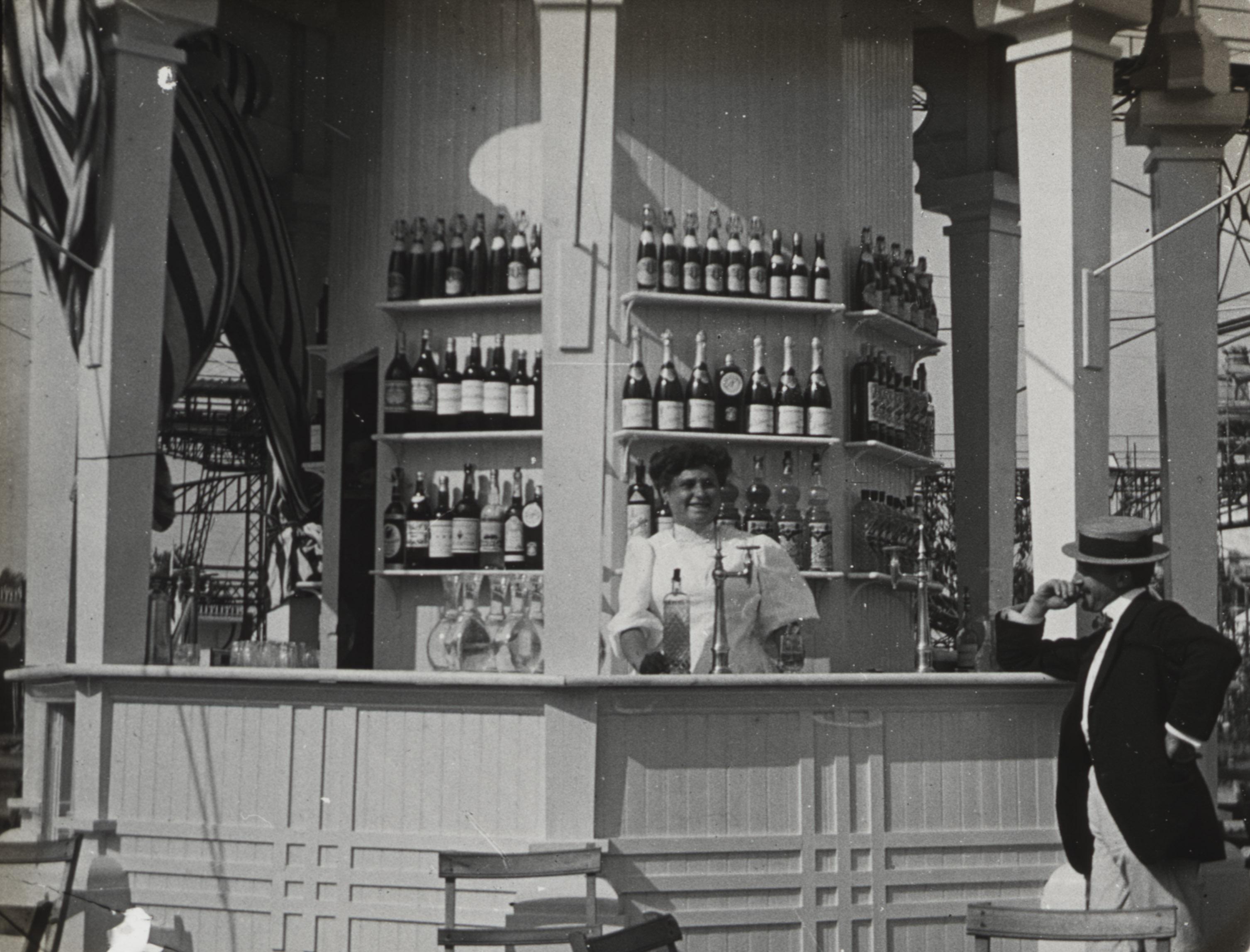 Un kiosko de refrescos Exposición