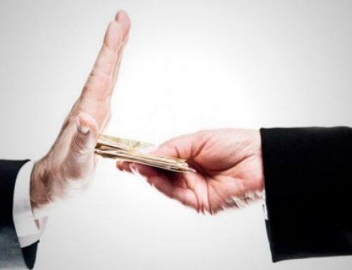 Dos ejemplos de acciones contra la corrupción