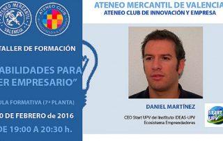 Habilidades para ser empreseario - Daniel Martinez