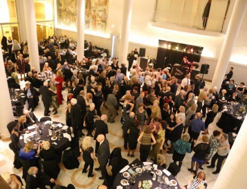 Un Salón Noble exultante acoge la Cena Social de San Valentín