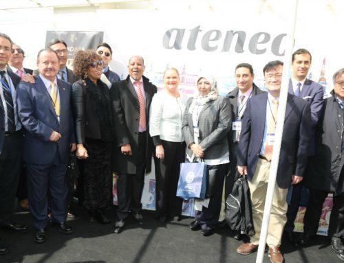 Los Hermanos Caballer dejan con la boca abierta a la delegación de la UNESCO presente en el Ateneo