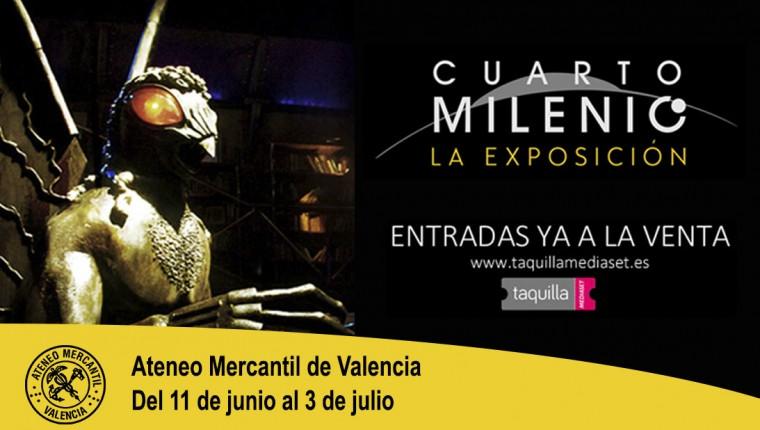 Exposición Cuarto Milenio – Ateneo Mercantil de Valencia