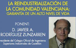 20151110 - REINDUSTRIALIZACION DE LA COMUNIDAD VALENCIANA