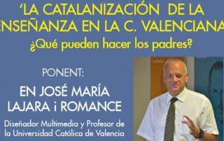 20160510 - LA CATALANIZACIÓN DE LA ENSEÑANZA - JOSE MARÍA LAJARA