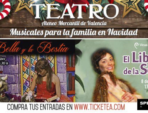 Teatro en el Ateneo: Musicales para la Familia en Navidad