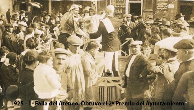 20170306 - Tertulia Historica - El Ateneo Mercantil y las Fallas