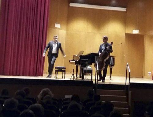 Un concierto de Cello y Piano que despidió la temporada de invierno