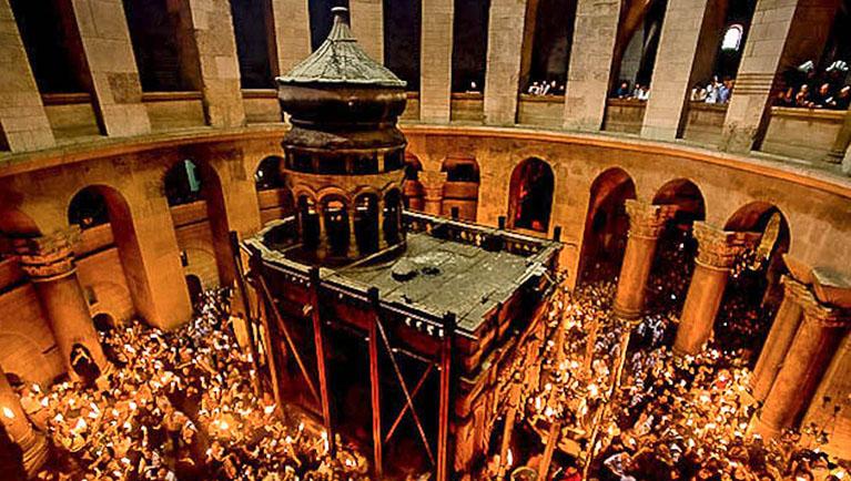 20170405 - Israel Siglo I - Santo Sepulcro Jerusalen