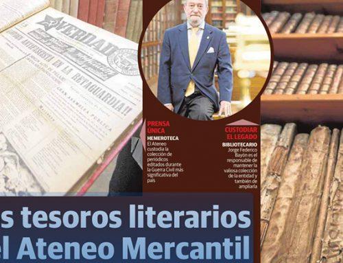 Nuestra Biblioteca: Los tesoros literarios del Ateneo Mercantil