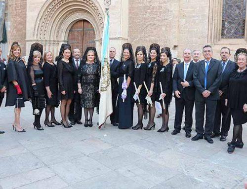 El Ateneo desfila por primera vez en la procesión de la Virgen de los Desamparados