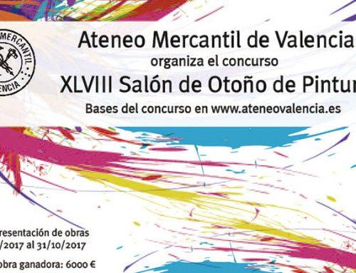 El Ateneo Mercantil convoca el XLVIII Salón de Otoño: Consulta las Bases