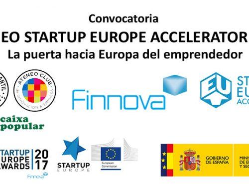 Ateneo StartUp Accelerator 2017 se concede al proyecto 'AON Therapeutics' del emprendedor alcoyano Jordi Hernández