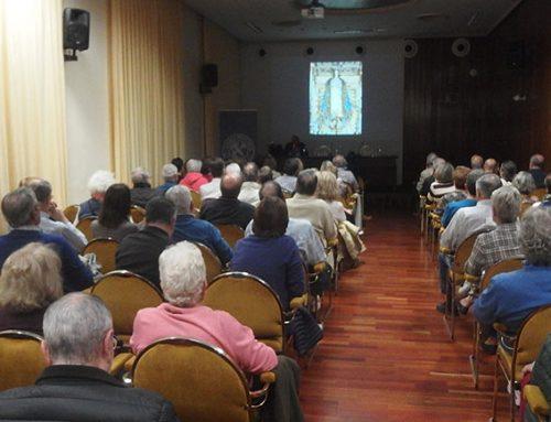 Amando García realiza un paseo virtual por el Patriarca a través de su conferencia