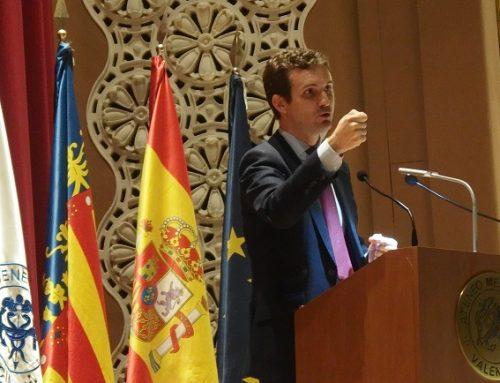 Pablo Casado 'inaugura' el Club de Debate del Ateneo ante 250 personas