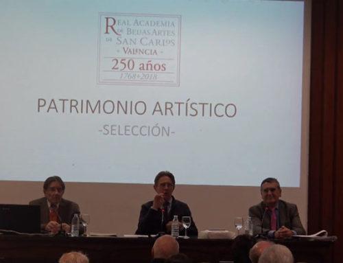 250 años de la Real Academia de Bellas Artes de San Carlos y su presidente D. Manuel Muñoz