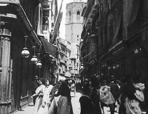 Primera sesión de la Valencia antigua en imágenes del pasado