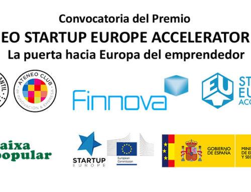 Los Ateneo StartUp Europe Accelerator 2018 son una realidad: Bases, Proyectos…