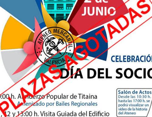 Plazas Agotadas para el 'Día del Socio': Un éxito de participación