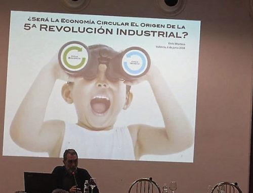 """""""¿Será la Economía Circular el origen de la Quinta Revolución Industrial? por Enric Montesa"""