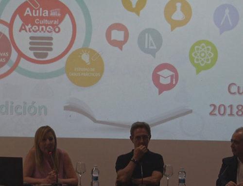 Rotundo éxito en la presentación de la V edición del Aula Cultural