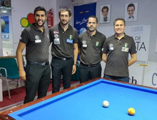 El C.B. Ateneo lídera el Campeonato de España a Tres Bandas