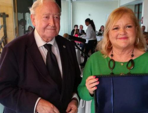 El Ateneo Mercantil recibe el premio de la Asociación de Cronistas del Reino de Valencia