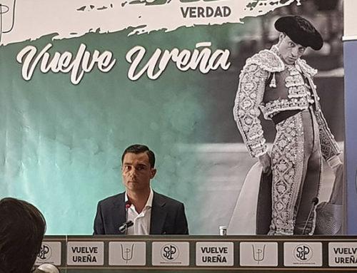 Paco Ureña anuncia su vuelta a los ruedos en la Feria de Fallas 2019