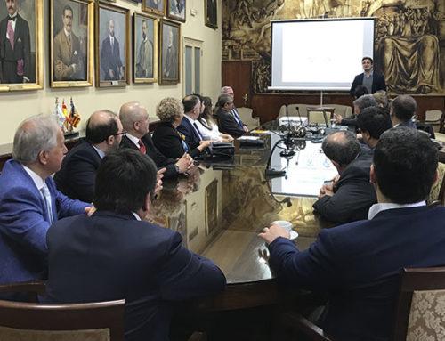 Representantes de la Cámara de Comercio de Turquía se reunen con el Club de Innovación del Ateneo