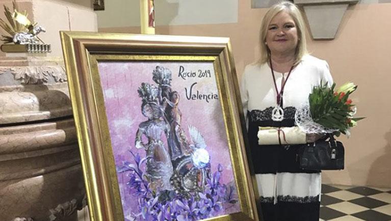 Carmen de Rosa nombrada 'Romera del Año' por su trabajo a favor de la cultura valenciana