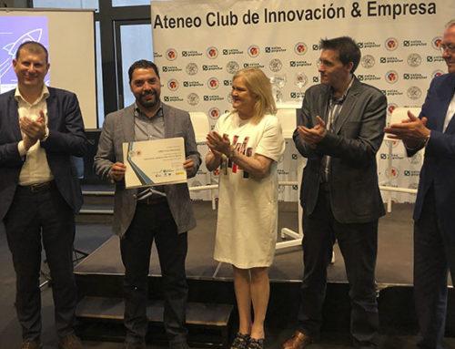 El Ateneo entrega el premio a la Startup Play&go por su carácter innovador y su viabilidad económica