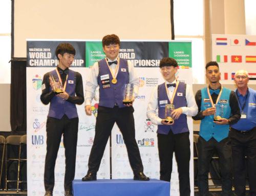 Myung-Woo Cho conquista su tercer título mundial junior en Valencia