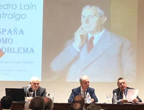 Pedro Laín da respuestas a los problemas históricos de las dos Españas