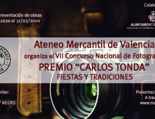 Bases del VII Concurso Nacional de Fotografía Ateneo Mercantil de Valencia - Premio 'Carlos Tonda' - 'Fiestas y Tradiciones'