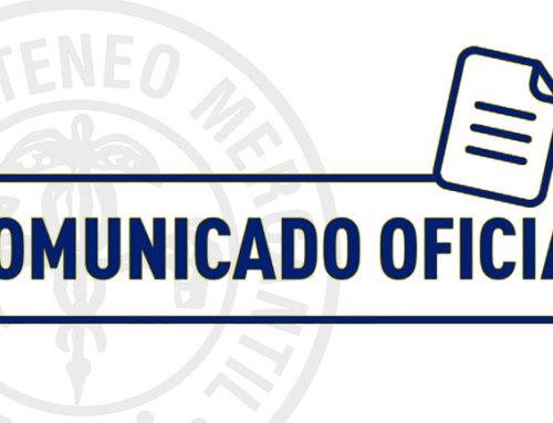 Comunicado Oficial Socios - Medidas contra el coronavirus en el Ateneo Mercantil de Valencia