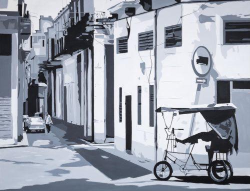 """Paisaje urbano XV"" de Cristina Romero"