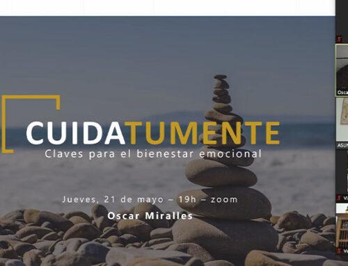 Óscar Miralles muestra el camino para poder alcanzar el bienestar y la salud emocional