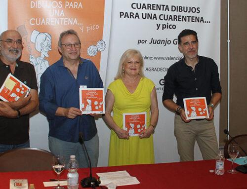 Juanjo García inunda el Ateneo Mercantil de 'Ingenio y Gracia' con los cuarenta dibujos que elaboró en plena cuarentena por el Covid19