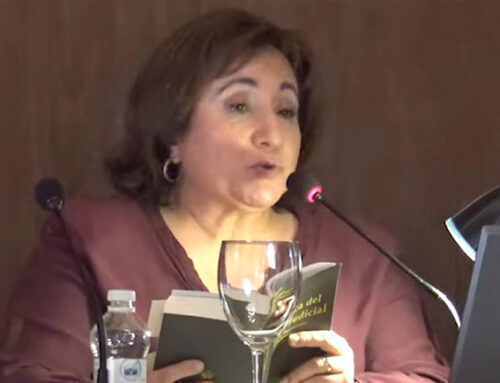"""Beatriz Sobremonte: """"La justicia real es la que administran todos los días miles de juzgados y tribunales en toda España"""""""
